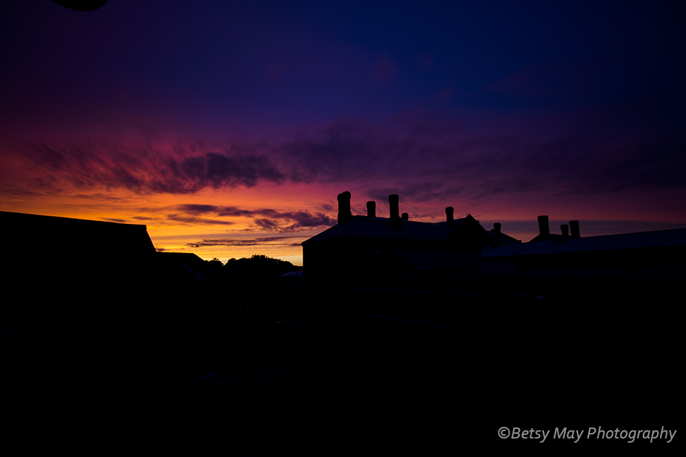 dorchester prison sunset 1