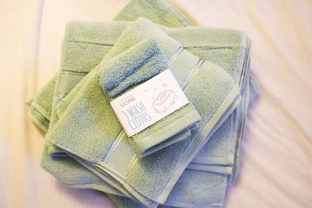 primark towels and wash cloths