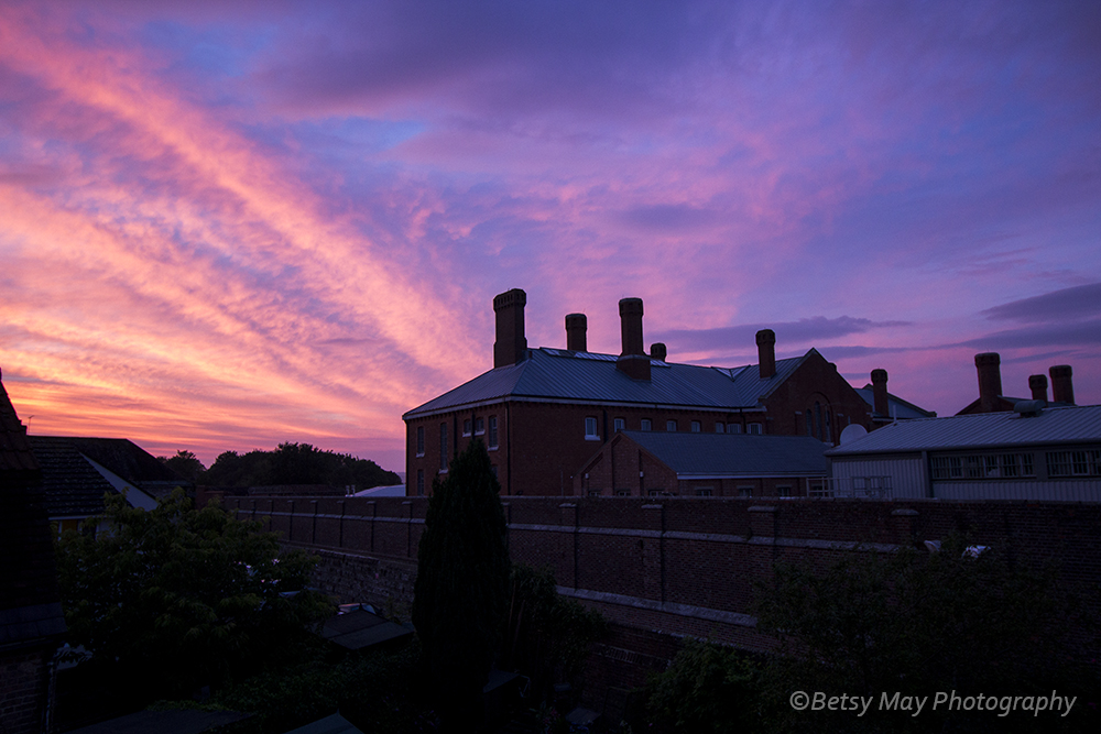 sunset dorchester prison